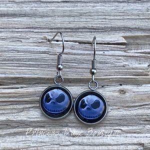 Jack Skellington Dangle Earrings